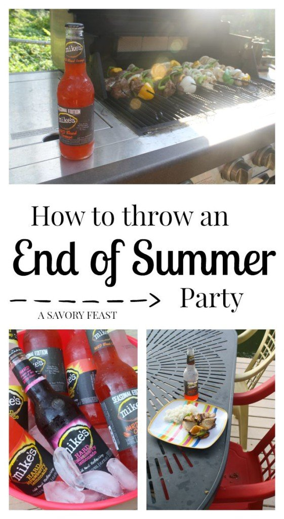 How to Throw an End of Summer Party