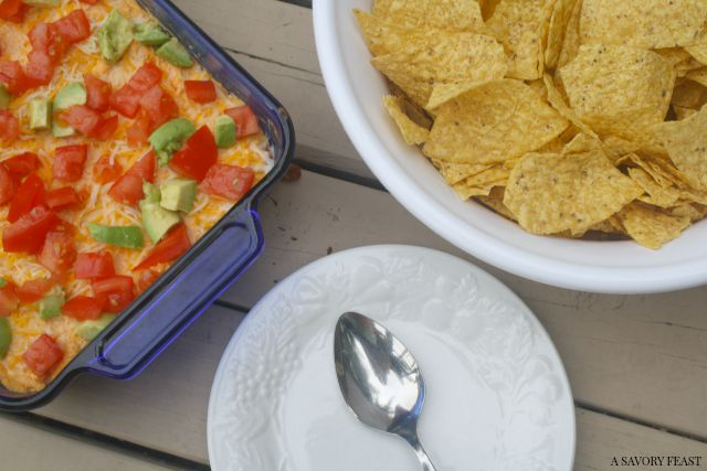 Laoded Buffalo Chicken Dip Recipe