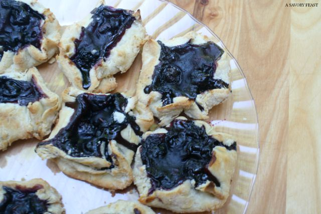 Mini Blueberry Lavender Galettes Recipe
