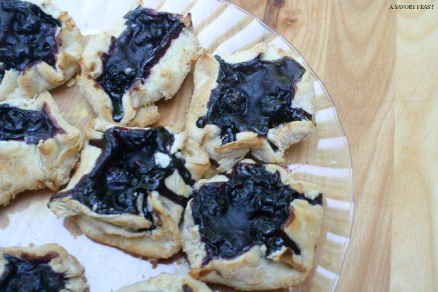 Mini Blueberry Lavender Galettes Recipe