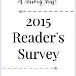 2015 Reader's Survey