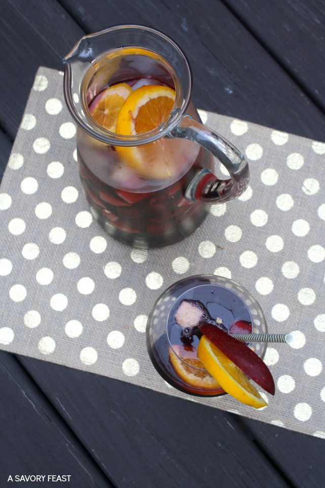 Autumn Sangria Drink