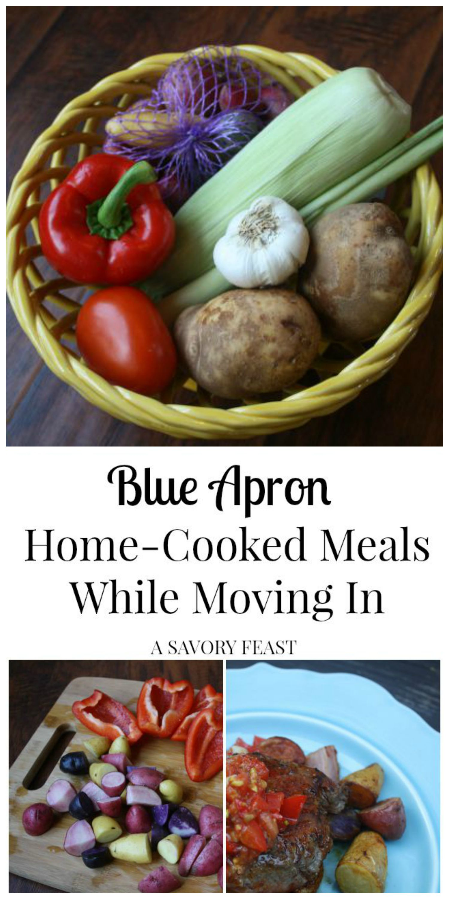 Blue Apron Home Cooked Meals While Moving In