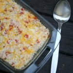 Cheesy Ro*tel Chicken Bake