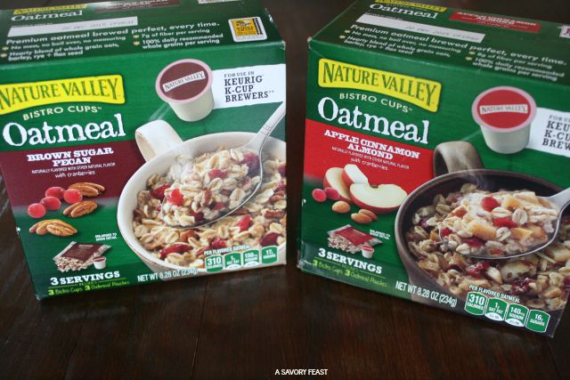Fall Morning Routine Oatmeal