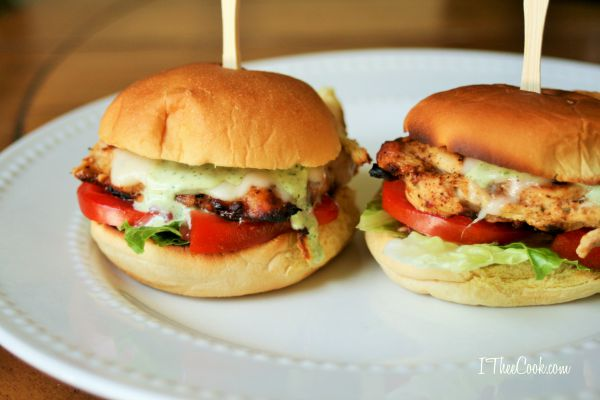 Grilled Cafe Rio Chicken Sliders 1