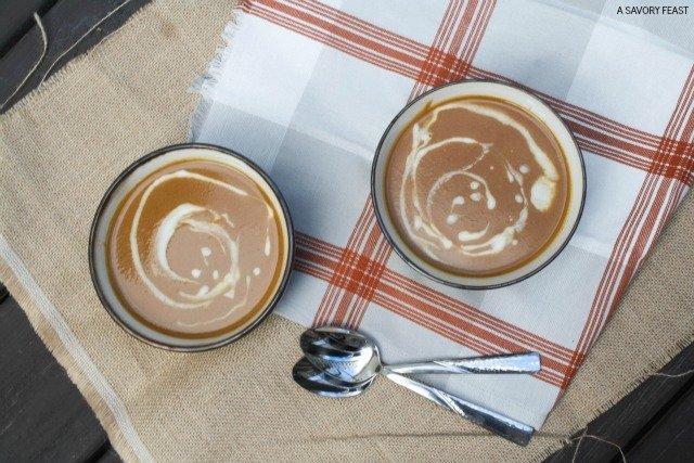 Creamy Pumpkin Soup Dinner