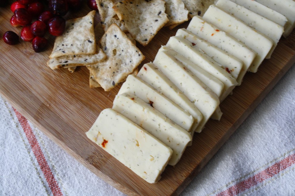 Holiday Cheese Platter Idea