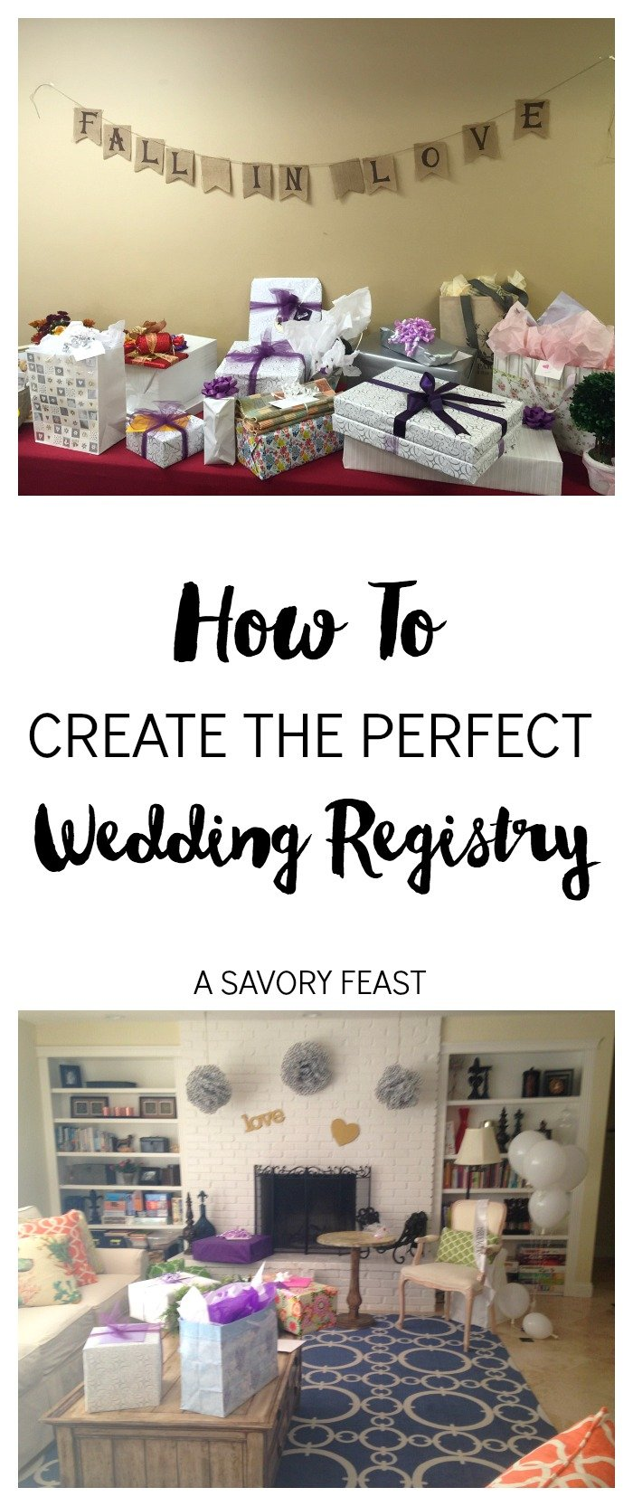How to Create the Perfect Wedding Registry