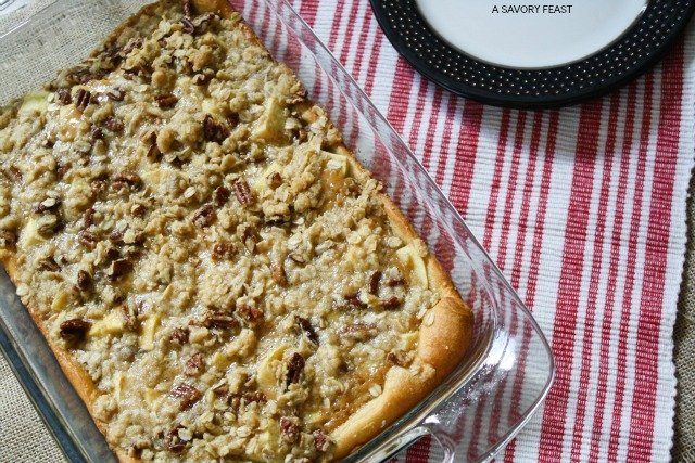 Caramel Apple Streusel Bars 2