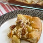 Caramel Apple Streusel Bars