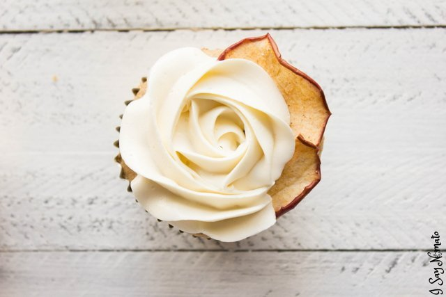 Apple Cider Cupcakes - I Say Nomato