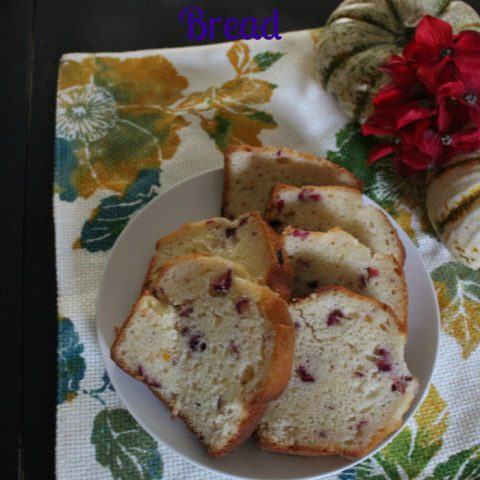 Cranberry Orange Bread {Guest Post}