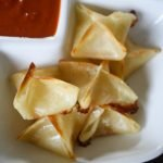 Mozzarella Wontons with Dipping Sauce