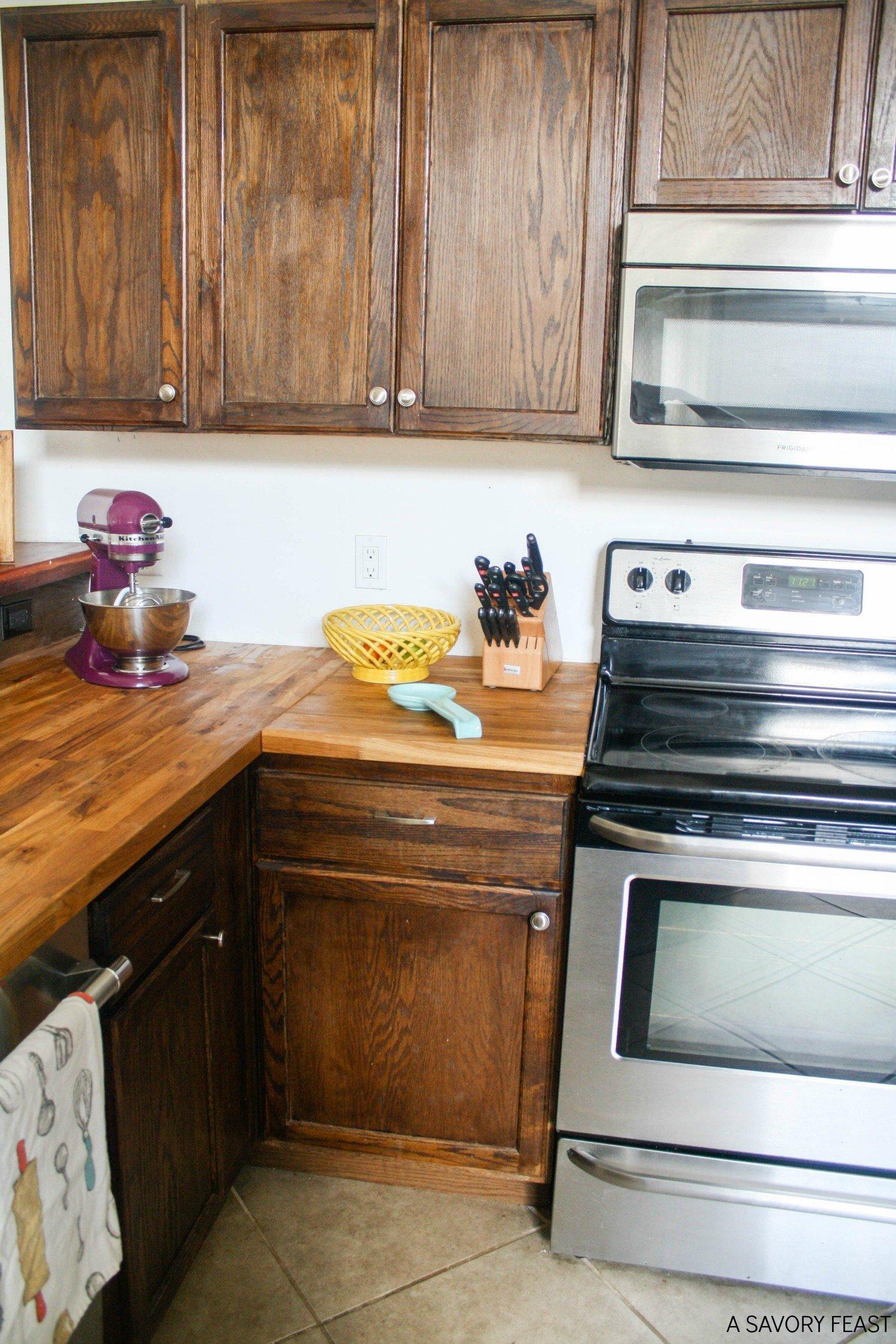 Butcher Block Countertops: My experience after six months, including initial maintenance and everyday use and care.