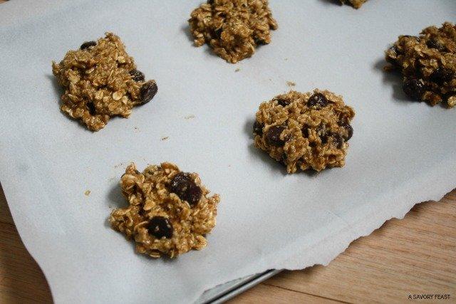 Healthy Oatmeal Cookies 1