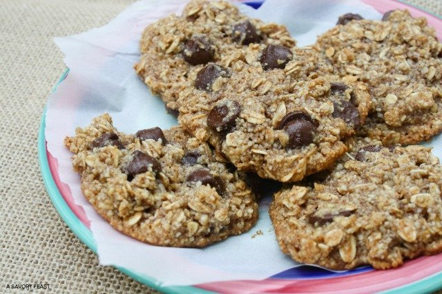 Healthy Oatmeal Cookies 3
