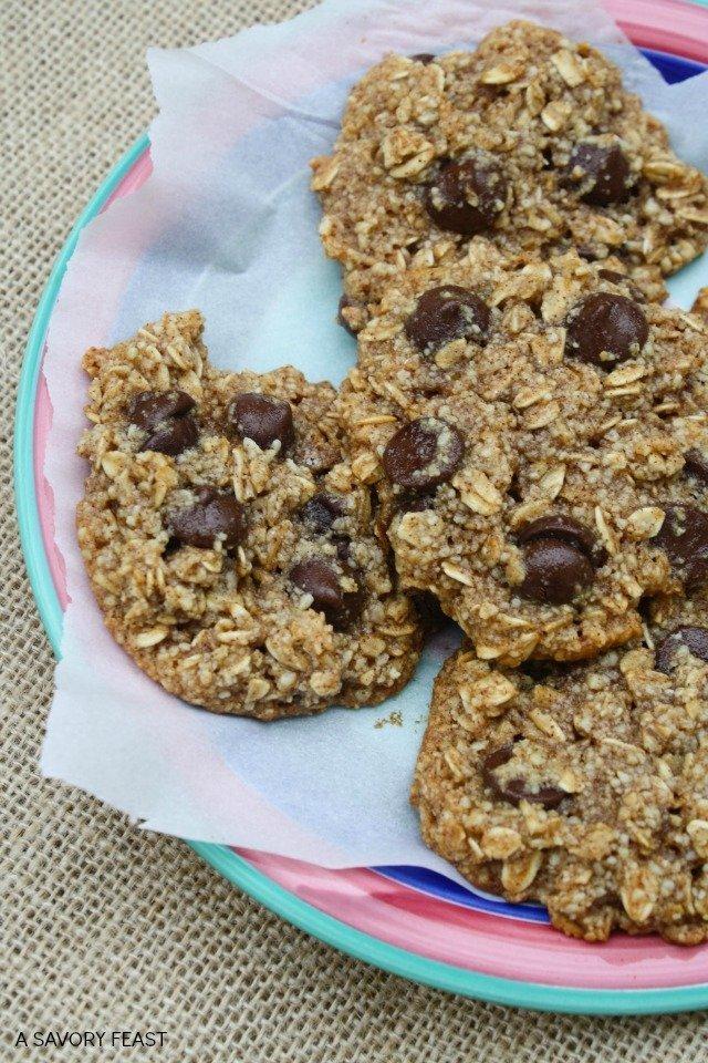 Healthy Oatmeal Cookies 4
