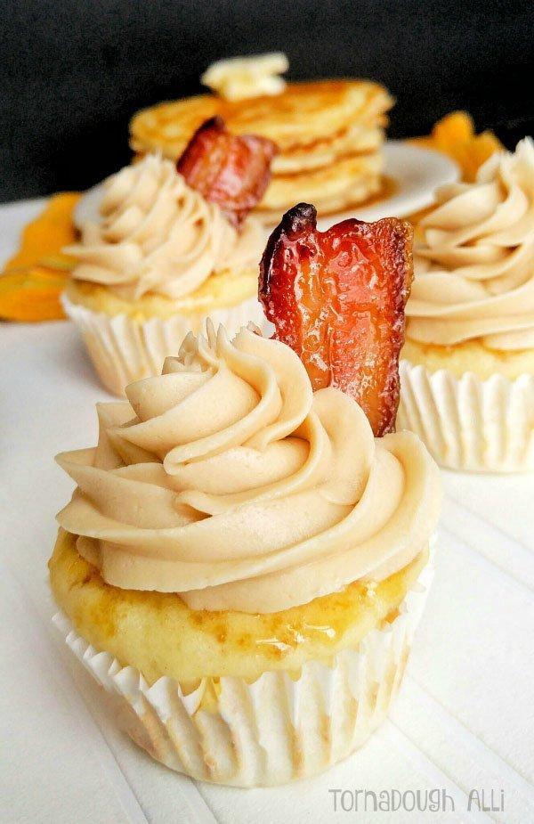 Pancake-Cupcakes