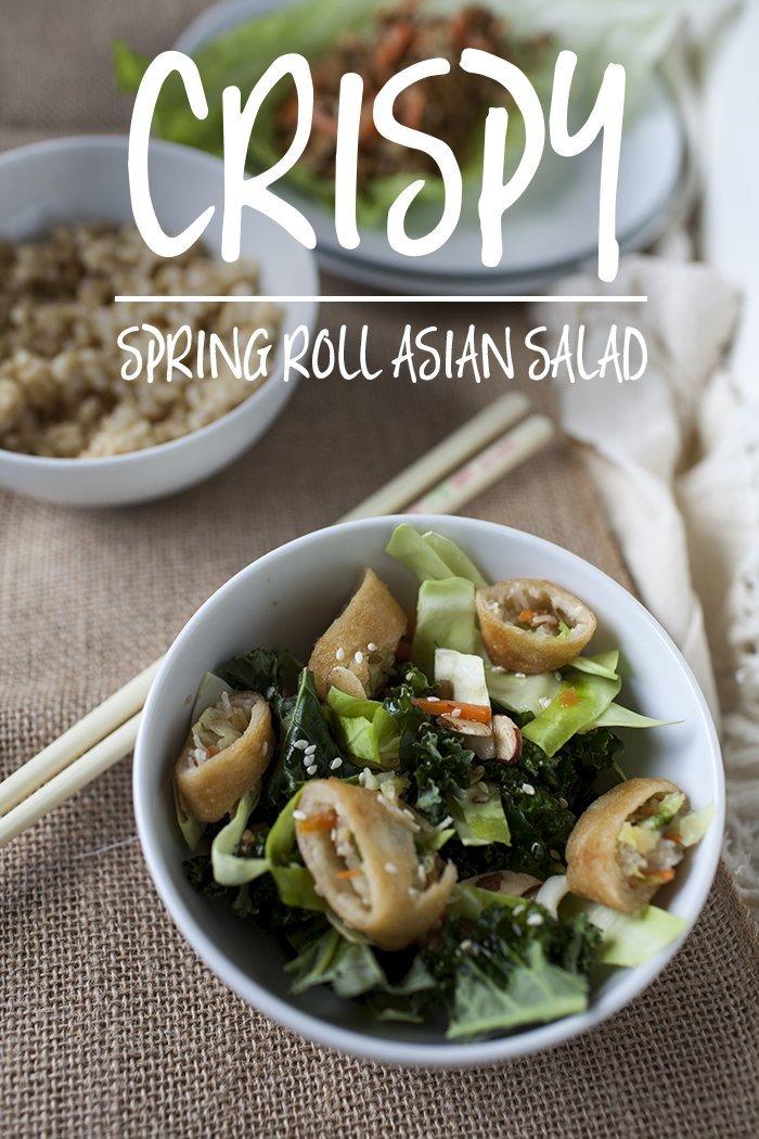 crispy-spring-roll-salad