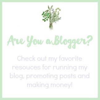 Blogging Resources Button