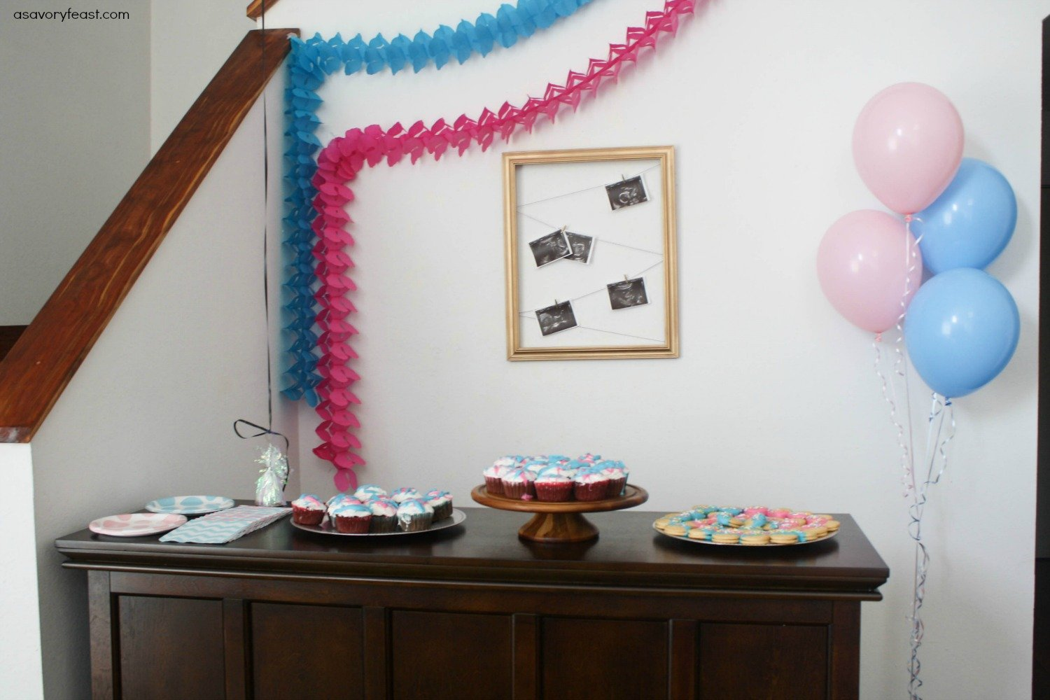 Planning a gender reveal party? Here are some simple yet super cute ideas for food, decor and how to do the big reveal!