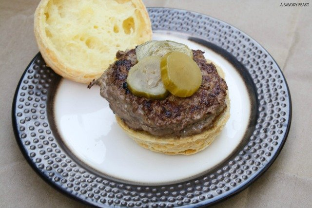Perfect for St. Patrick's Day, these Guinness Burgers are infused with flavor! An easy meal to celebrate the holiday.