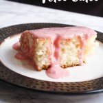 Strawberry Cream Cheese Poke Cake