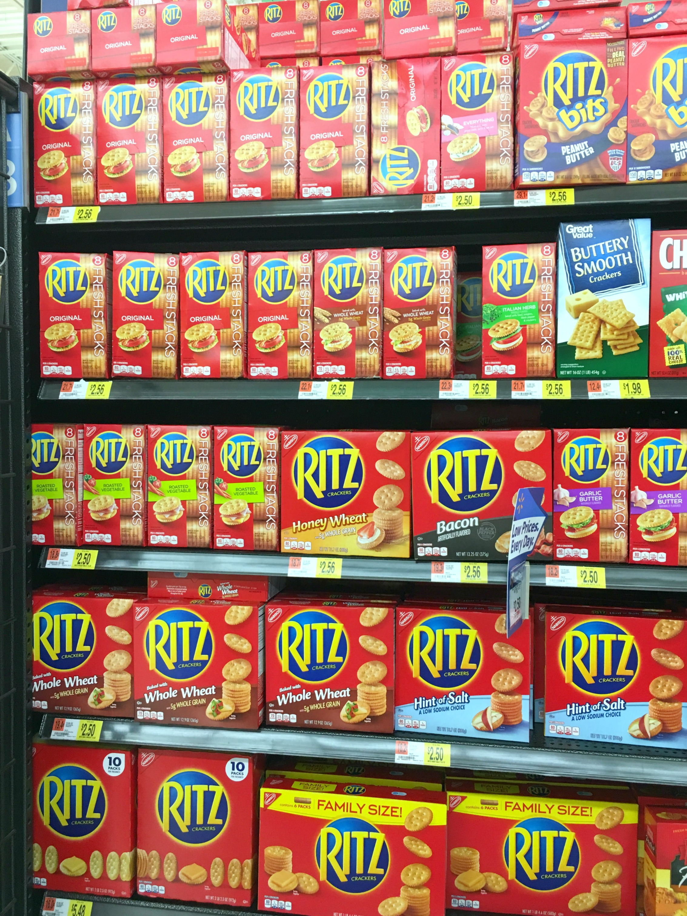 Strawberry Fudge RITZ Stacks are a fun and easy snack idea!