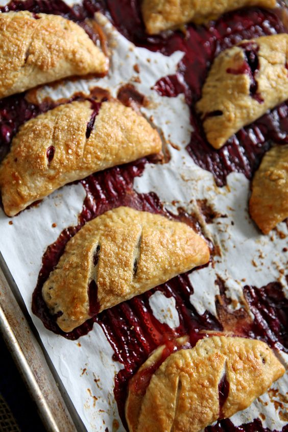 July 4th Food: Strawberry and Blueberry Hand Pies // The Speckled Palate