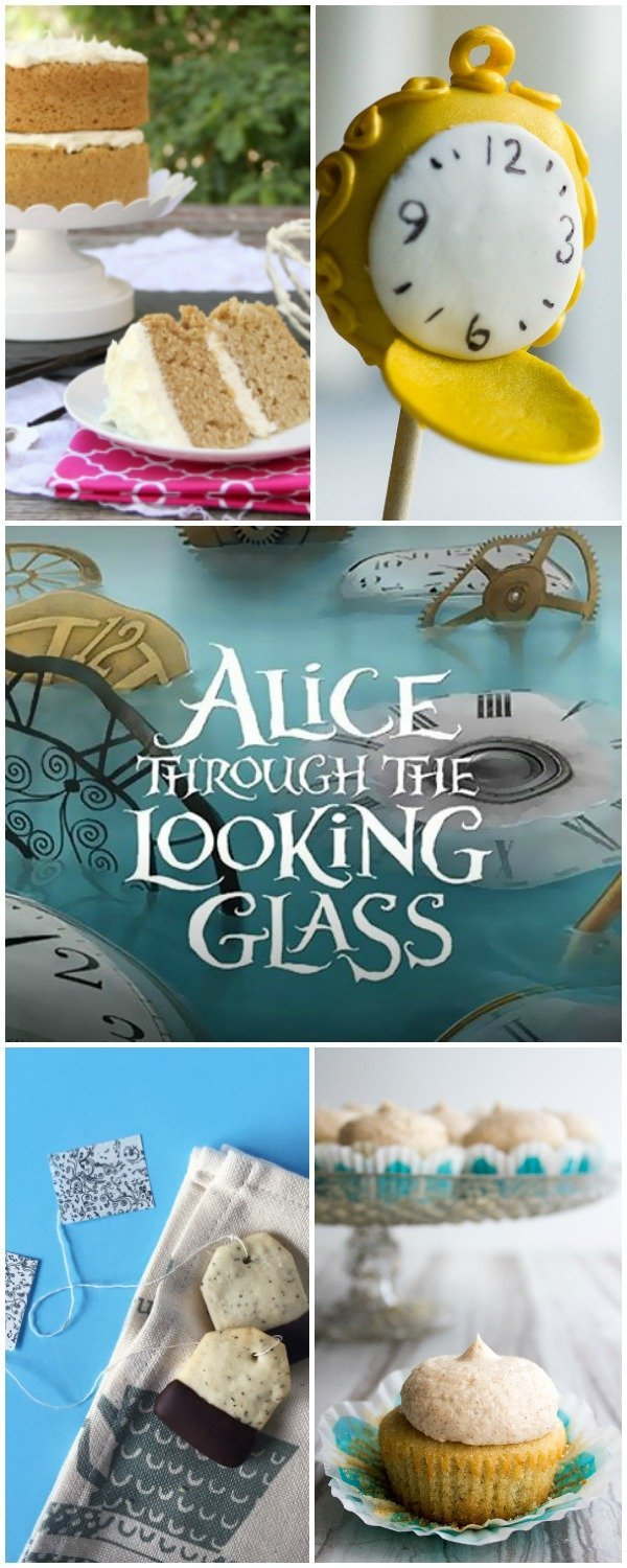 Celebrate the premiere of the new movie, Alice Through the Looking Glass with these recipes and crafts!