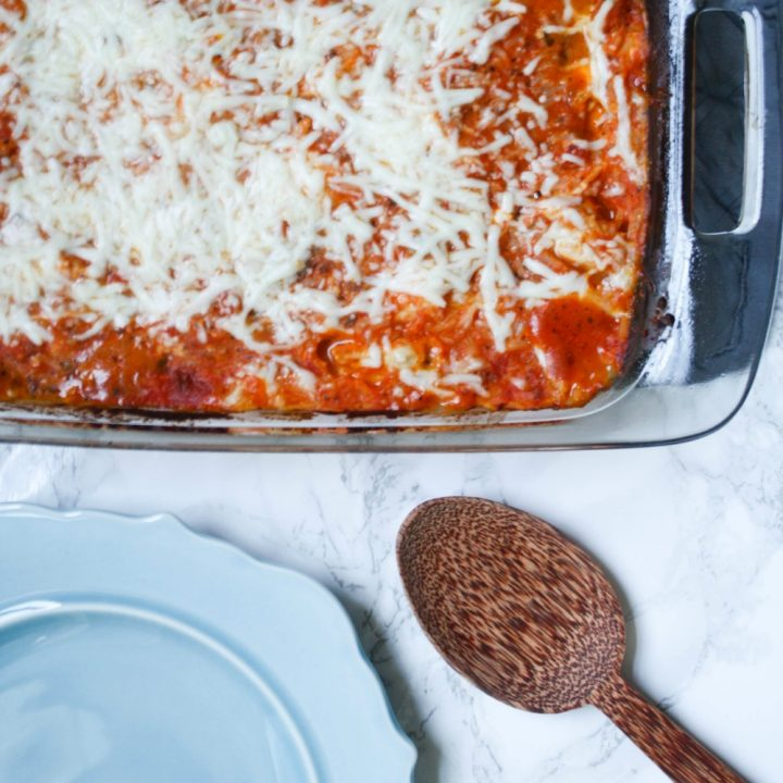 Tomato, Pesto and Goat Cheese Casserole