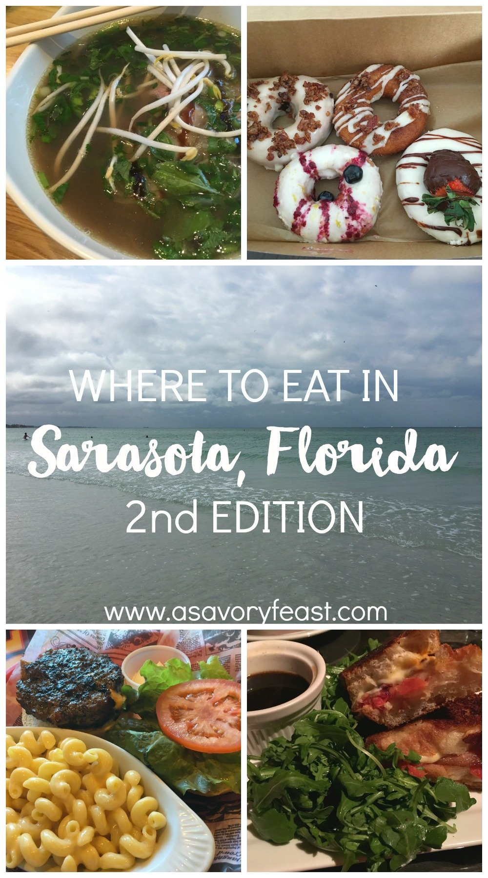 Visiting Sarasota, Florida? Here are some of the top restaurants you've got to try!