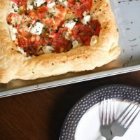 Queen of Hearts Tomato Tarts