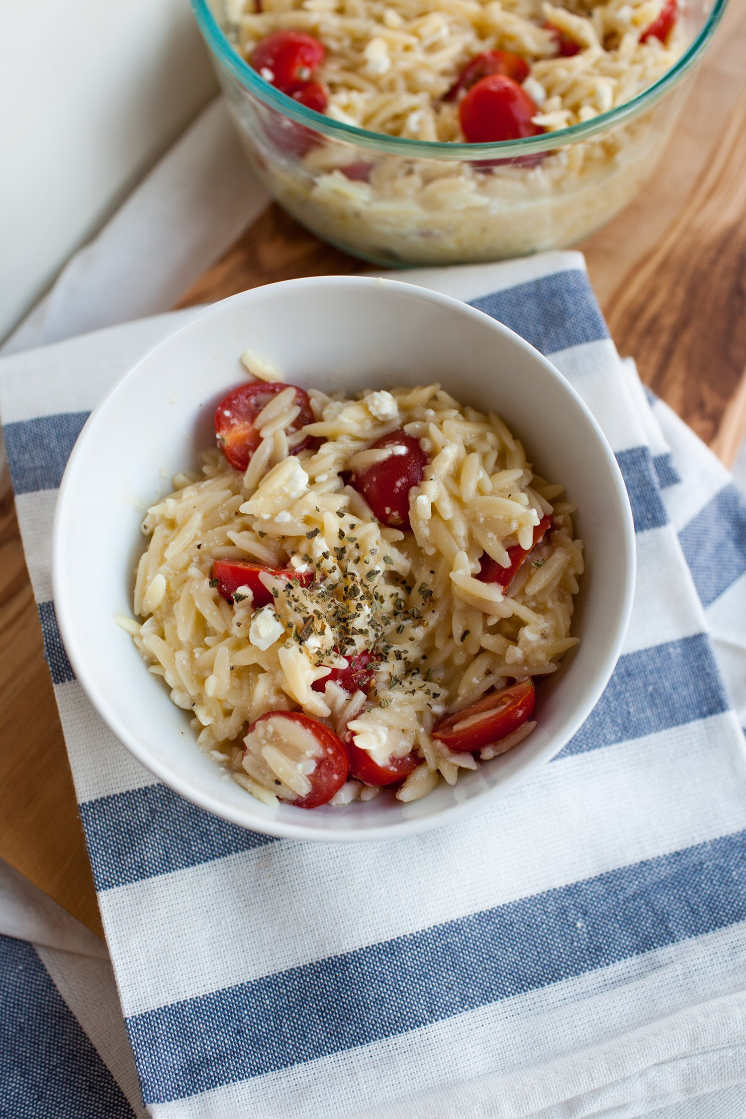 This lemon orzo pasta is the perfect summer side dish! It's so quick and easy to make.