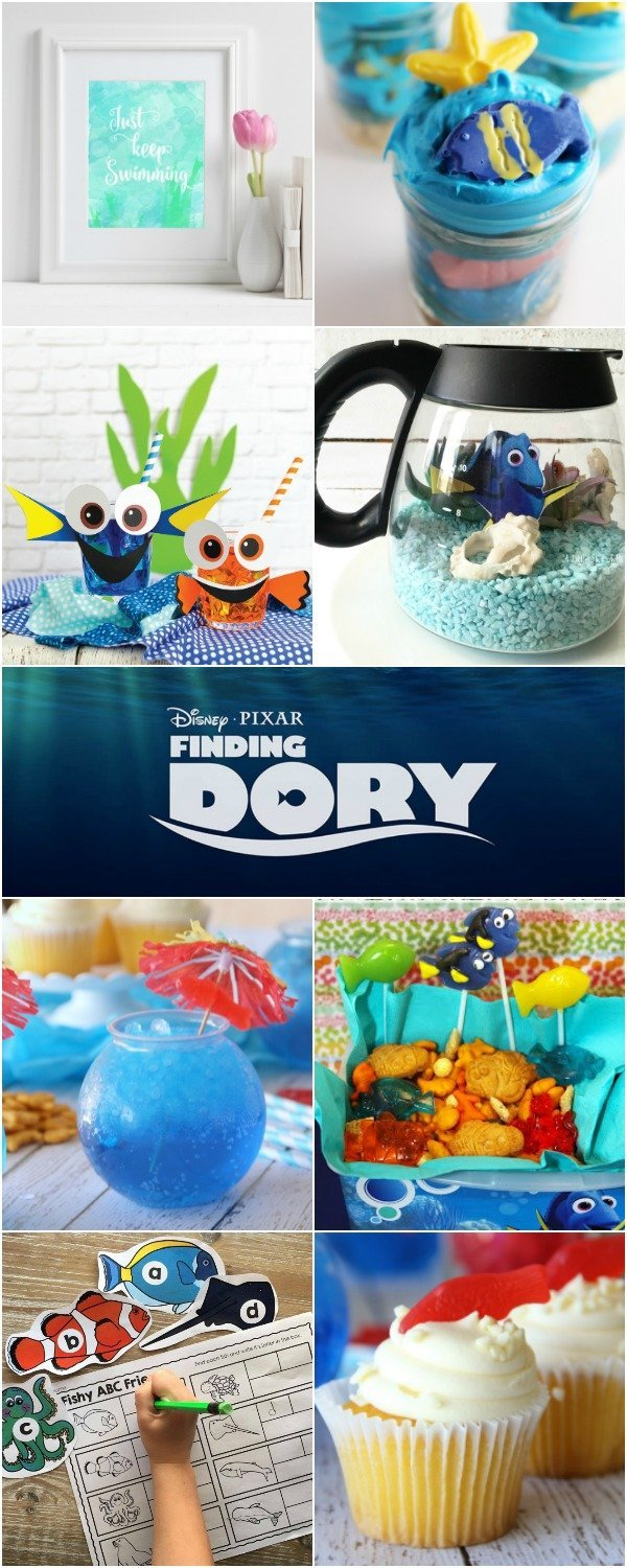 Throw a Finding Dory party with these recipes, crafts and other fun ideas.