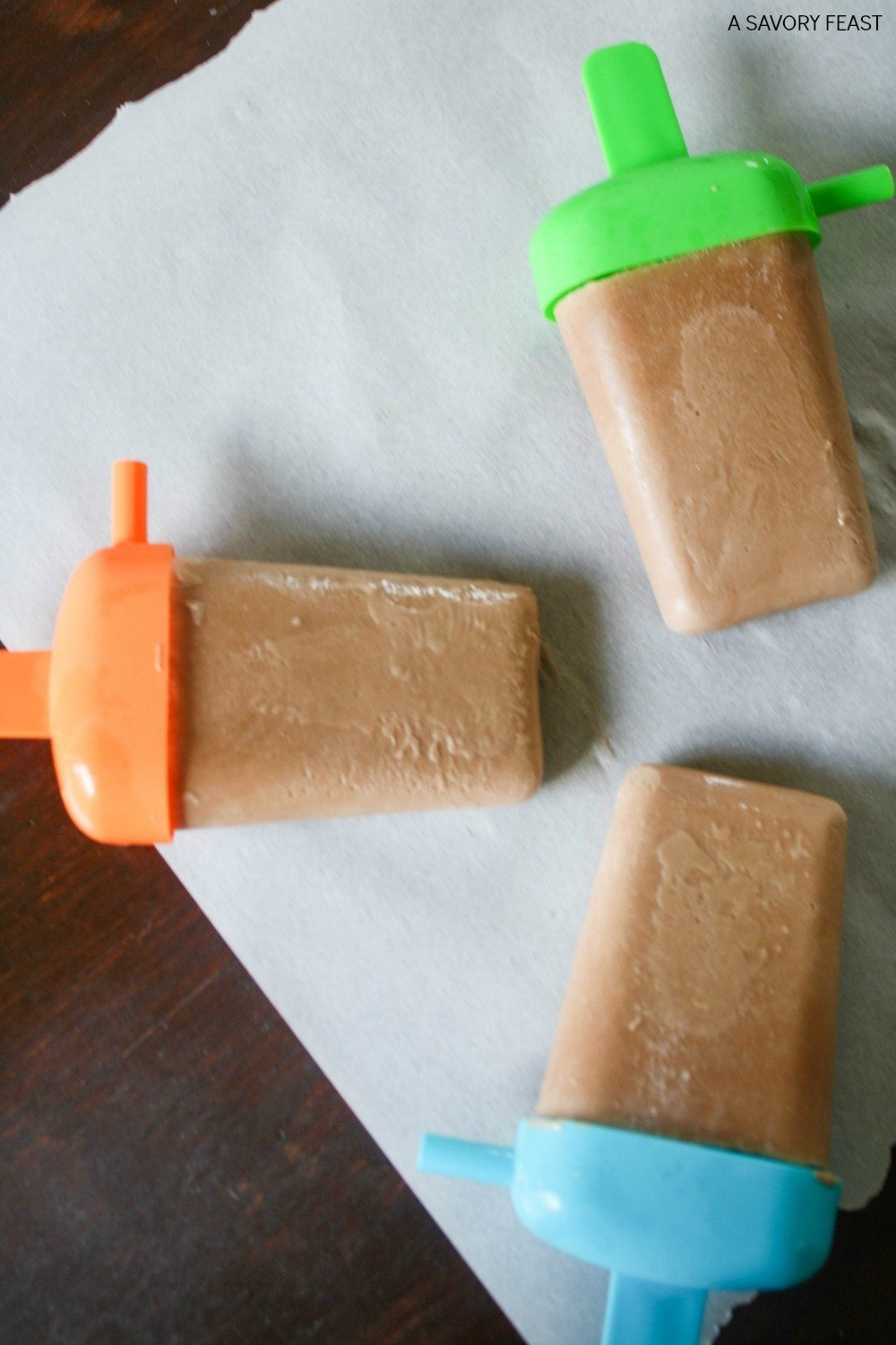 These Protein Fudgsicles are a healthy, refreshing summer snack! Made with your favorite protein powder and coconut milk.