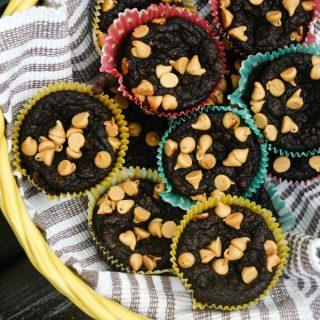 Chocolate Avocado Muffins 2