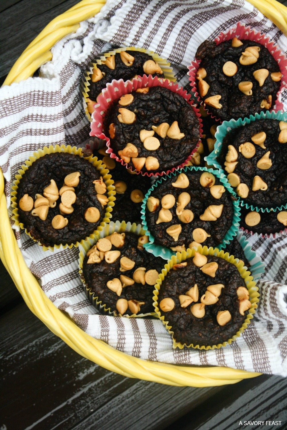 Busy mornings? Try a make-ahead, grab and go breakfast like these Chocolate Avocado Blender Muffins. Start your day the right way with these healthy muffins. Gluten free and low sugar! Perfect for back to school.