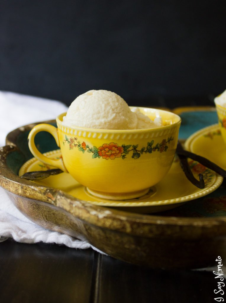 No-Churn London Fog Ice Cream is a great way to enjoy that creamy, rich Earl Grey tea in a cooler form for summer!