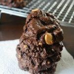 Chocolate & Vanilla Oreo Chunk Cookies
