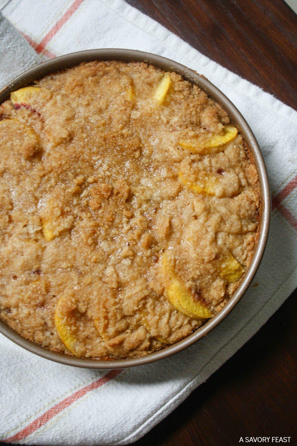 Peach Coffee Cake Recipe Bisquick