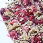 Healthy Strawberry Oat Bars