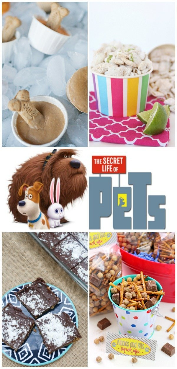 The Secret Life of Pets Recipe Ideas!