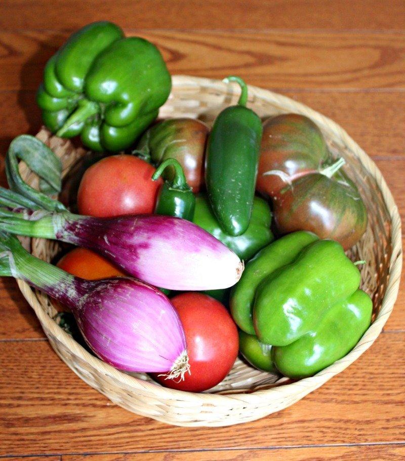 burrito bowl produce