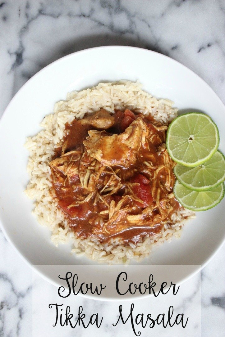 Slow Cooker Tikka Masala provides the solution to your dinner woes! A little quick prep gets the meal started and then you can leave the rest to the slow cooker.
