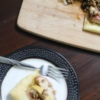 Puff Pastry Apple Crumble