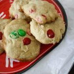 One Bowl M&M's Cookies