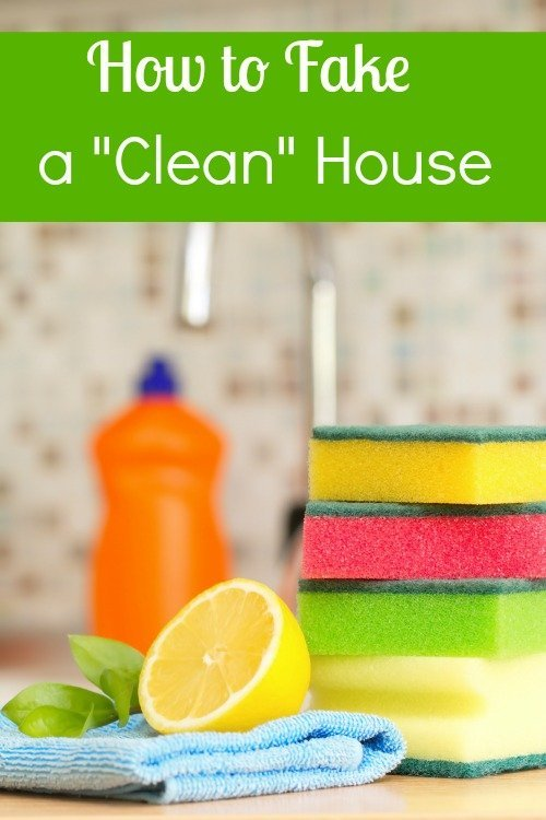 fake-a-clean-house