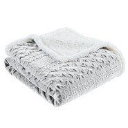 Edmond Textured Plush Throw
